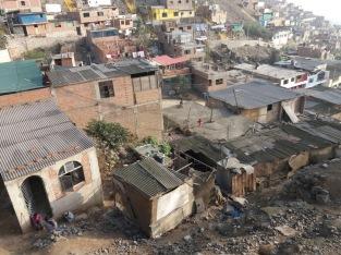 Der Zustand einiger Häuser...